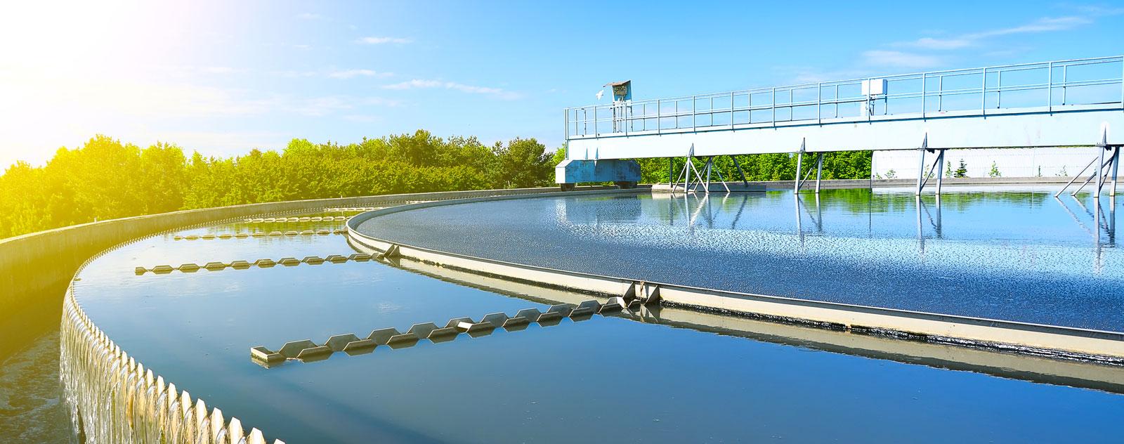 impianto per la depurazione delle acque reflue